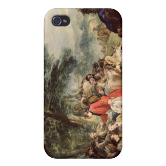 The Hunt Lunch, 1737 iPhone 4/4S Cover