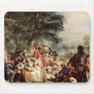 The Hunt Lunch, 1737 Mouse Pad