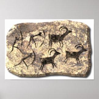 The Hunt-stone Print
