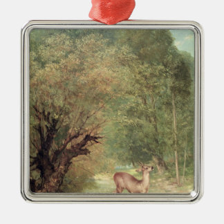 The Hunted Roe-Deer on the alert, Spring, 1867 Ornaments