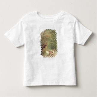 The Hunted Roe-Deer on the alert, Spring, 1867 Toddler T-shirt