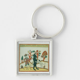 The Hunter and the Boar, Russian, late 18th centur Keychains
