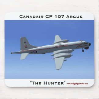 The Hunter, Canadair CP 107 Argus Mouse Pad