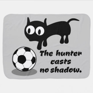 The Hunter Casts no Shadow Swaddle Blankets