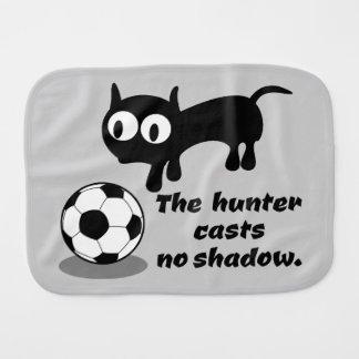 The Hunter Casts no Shadow Baby Burp Cloth