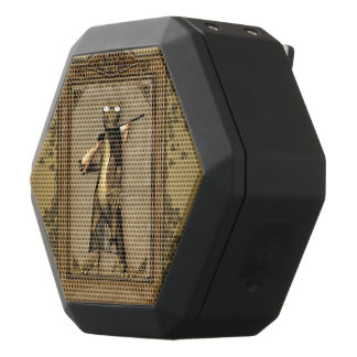 The hunter, funny gecko black bluetooth speaker