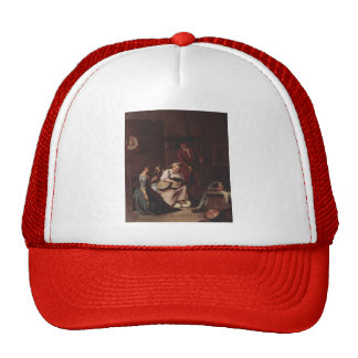 The hunters and the farmers by Pietro Longhi Trucker Hats