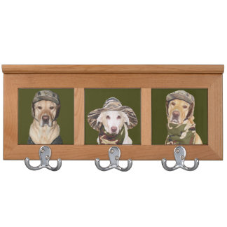 The Hunters Coat Rack