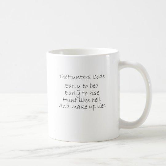 The Hunters Code Coffee Mug