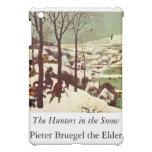 The Hunters in the Snow - 1565 iPad Mini Cover