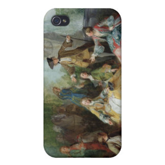 The Hunting Party Meal, c. 1737 iPhone 4 Covers