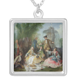 The Hunting Party Meal, c. 1737 Custom Necklace