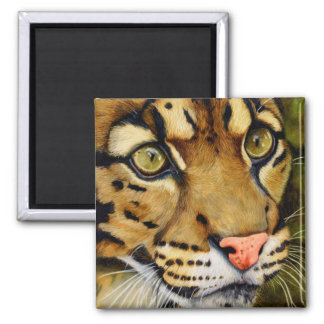 The Huntress - Clouded leopard Magnet