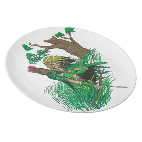 The Huntress Dinner Plate