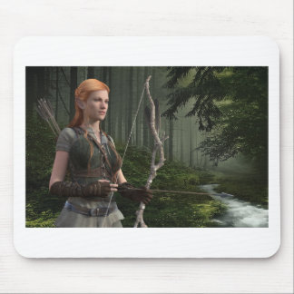 The Huntress Mouse Pad