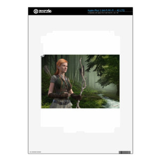 The Huntress Skins For iPad 3