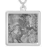 The Hunts of Maximilian, Capricorn Square Pendant Necklace
