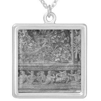 The Hunts of Maximilian, Gemini Square Pendant Necklace