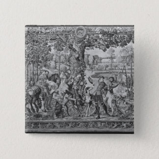 The Hunts of Maximilian, Leo, The Stag Hunt Button