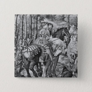 The Hunts of Maximilian, Leo, The Stag Hunt Pinback Button