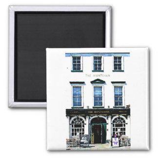 The Huntsman Public House 2 Inch Square Magnet