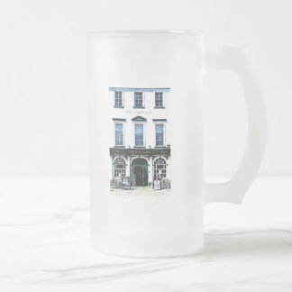 The Huntsman Public House Frosted Glass Beer Mug