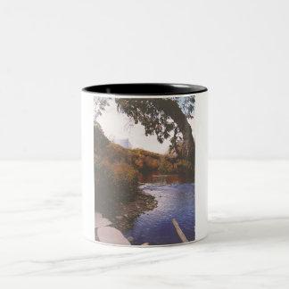 The Huron River Two-Tone Coffee Mug