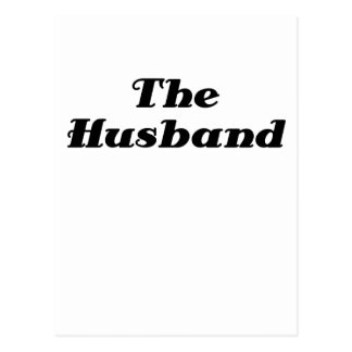 The Husband Postcard