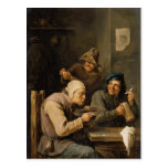 The Hustle Cap by David Teniers the Younger Post Card