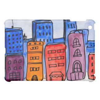 The Hustle N Bustle of City Life iPad Mini Cases