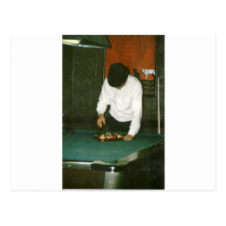 the hustler postcard