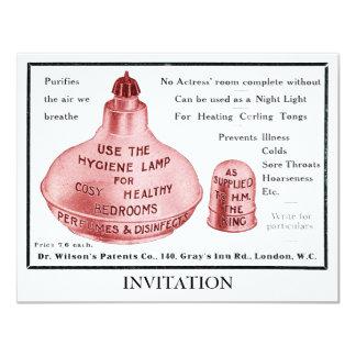 The Hygiene Lamp Invitation