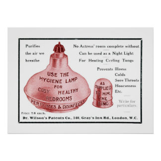 The Hygiene Lamp Print