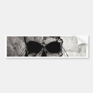The Hyman Skull Bumper Sticker