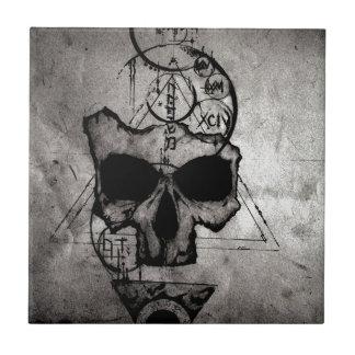 The Hyman Skull Ceramic Tile