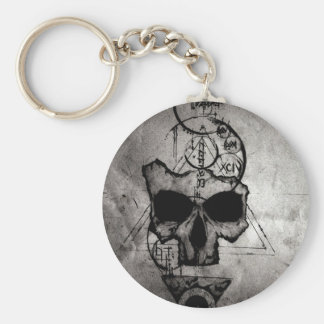 The Hyman Skull Keychain