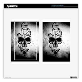 The Hyman Skull Kindle Fire Skin