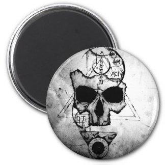 The Hyman Skull Magnet