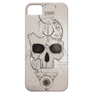 The Hyman Skull Posterized iPhone SE/5/5s Case