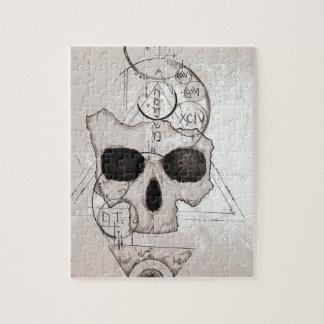 The Hyman Skull Posterized Jigsaw Puzzle
