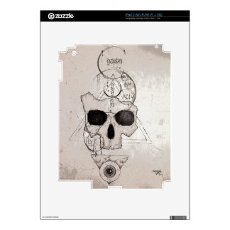 The Hyman Skull Posterized Skins For iPad 2