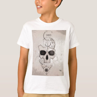 The Hyman Skull Posterized T-Shirt