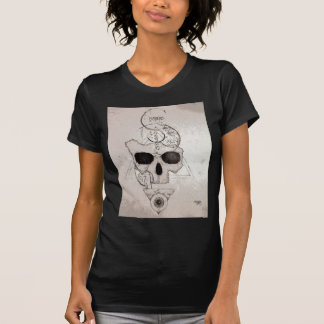 The Hyman Skull Posterized T-Shirt
