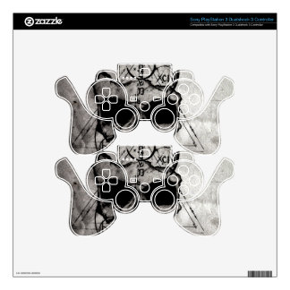The Hyman Skull PS3 Controller Decals