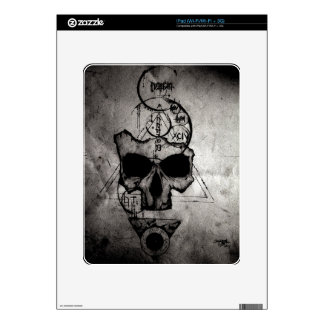 The Hyman Skull Skin For The iPad