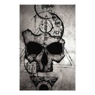 The Hyman Skull Stationery