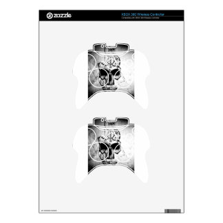 The Hyman Skull Xbox 360 Controller Decal