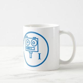 "The ""I build robots"" badge (LEVEL I) Coffee Mug"