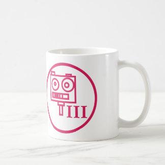 "The ""I build robots"" badge (LEVEL III) Coffee Mug"