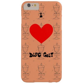 The I ♥ Disc Golf Iphone case/cover w/artist image Barely There iPhone 6 Plus Case